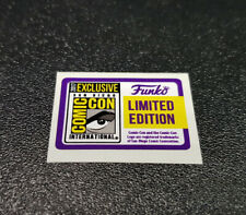Funko Pop! Figure (2017 SDCC Convention Exclusive) Replacement Sticker