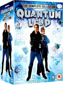 QUANTUM LEAP SEASONS 1 TO 5 COMPLETE COLLECTION DVD [UK] NEW DVD