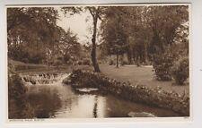 Derbyshire postcard - Serpentine Walks, Buxton