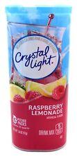 12 12-Quart Canisters  Crystal Light Raspberry Lemonade Drink Mix