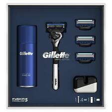 Gillette Fusion5 Proglide Chrome Razor Limited Edition Gift Set -