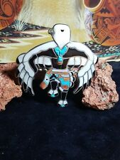 Sterling silver Zuni style Bolo tie multi stone very beautiful
