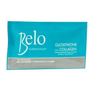 Belo Essentials Glutathione + Collagen Dietary Supplement - 10 Capsules