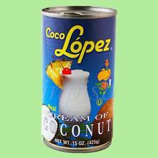 COCO LOPEZ  1 CAN x 15oz REAL CREAM OF COCONUT TO MIX PIÑA COLADA