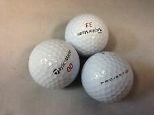 24 Taylormade Project(a)(no logo) 5A(AAAAA) Golf Balls Free shipping to US