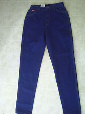 WOMENS DICKIES RELAXED FIT   BLUE DENIM  JEANS   SIZE  13/14