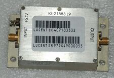 KS21583 L9 PRE-AMP by Mini Circuits Lucent Pre Amp for 750-850 MHz Cell Site
