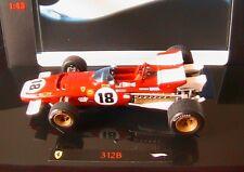 FERRARI 312B #18 JACKY ICKX WINNER CANADIAN GP 1970 HOTWHEELS ELITE 1/43 MATTEL