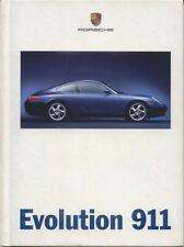 PORSCHE 911 Carrera 3.4 1998 ORIGINALE UK SALES BROCHURE PUB WVK 195 425