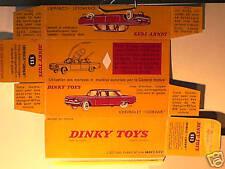 REPLIQUE  BOITE CHEVROLET CORVAIR DINKY TOYS 1962