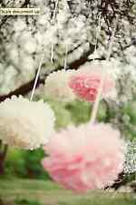 50 tissue paper pompoms set - 3 sizes - wedding party decorations - multi color