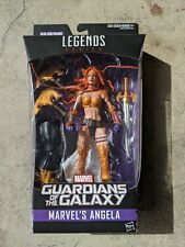 "Hasbro Marvel Legends 6"" Figure ANGELA Titus BAF Wave MISB Spawn"