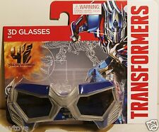 Transformers Optimus Prime Look 3D Movie Glasses RealD Real Age of Extinction