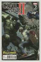 Civil War II #2 Bulletproof Variant (Marvel 2016) Gabriele Dell'Otto Cover Art