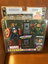 Marvel Legends Face-off Series Variants  Captain America and Redskull