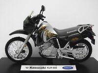 Motorbikes, Kawasaki 2002 KLR 650, Green,  New & Sealed 1/18