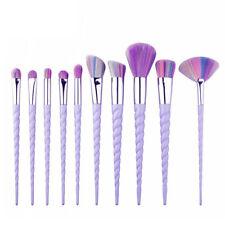 10Pcs Unicorn Design Make Up Brush Set Professional Cosmetic Kit for Foundation