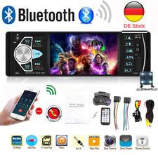 1DIN AUTORADIO MIT BLUETOOTH FREISPRECHEINRICHTUNG MP3 TF AUX USB Rückfahrkamera