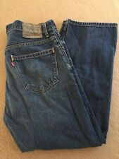 Levi's Levi Strauss 559 Relaxed Straight Men's Blue Jeans Size 34 W x 30 L