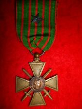 France - French 1914-18 Ww1, Croix de Guerre for Ww1