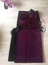 Lanvin Dress LANVIN Cocktail NEW Split Size 38 Purple Runway/catwalk £1300+