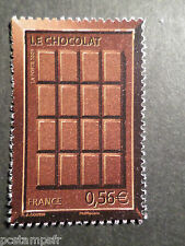 FRANCE 2009, timbre 4364, PLAQUE CHOCOLAT, TABLETTE neuf** MNH STAMP CHOCOLATE