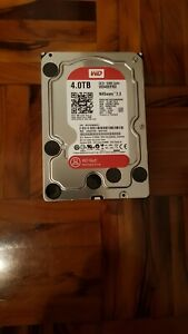 Western Digital WD Red 4TB NAS Hard Drive, Disco rigido