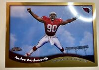 1998 Topps Chrome Football Card #79 Andre Wadsworth Rookie