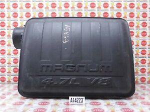 2002 DODGE RAM 1500 4.7L AIR CLEANER RESONATOR 53032048AA OEM