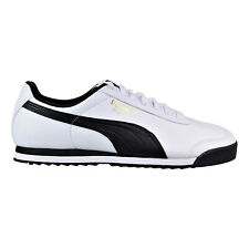 Puma Roma Basic Men's Shoes Puma White-Puma Black 353572-04