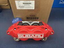 Genuine SUBARU WRX RED SUBARU 4 Pot PISTON BRAKE CALIPER LEFT DRIVER OEM New LH