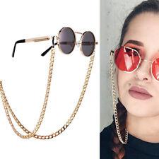 Gold Sunglasses Hip Hop Strap Necklace EyeglassGlasses Chain Cord Reading Str_TM
