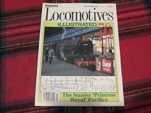 LOCOMOTIVE ILLUSTRATED No.76 THE STANIER PRINCESS ROYAL PACIFICS