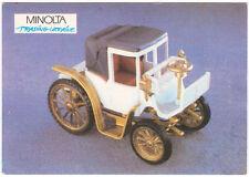 Ukrainian Pocket Calendar 1992 Benz Victoria-Wagen 1893 GAMA 1/43 Very Rare