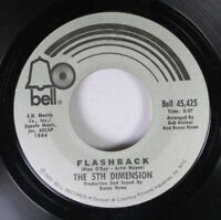 Soul Unplayed Nm! 45 The 5Th Dimension - Flashback / Diggin' For A Livin' On Bel
