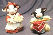 1994 Mary Moos Little Drumherd Boy & Your My Sweetie Pie Figurine, Enesco, Exlnt