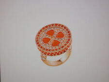 """Park Lane Jewelry, """"SUN-KISSED"""" Ring, Size 9, Crystals, Retired,  NEW!!!"""