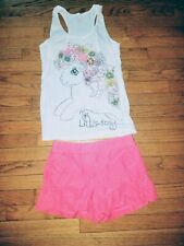My Little Pony Juniors Size Small Tank Top J Crew Shorts Sz 0 Lot Outfit
