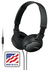 Headphones Over Ear Noise Cancellation For Gaming Sony Stereo Headphone Wire