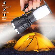Super Bright Searchlight Handheld Portable Spotlight USB Rechargeable Flashlight