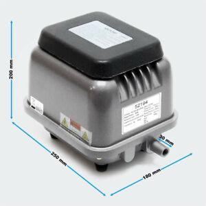 Sunsun HJB-120 Pompe à air électromagnétique Silencieuse pour Aquarium Bassin