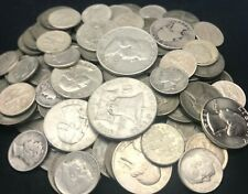 1 One Troy Pound Lb Us Silver Coins No Junk Pre-1965 Half Dollar Quarters Dimes