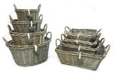Country Rectangular Decorative Baskets