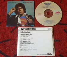 RAY BARRETTO ** Indestructible ** ORIGINAL 1st PRESS USA CD