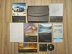 2017 Mercedes Benz GLS Class GLS350 GLS450 GLS550 GLS63 AMG Owners Manual Set