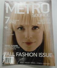 Metro Source Magazine Men Suvari & 7 Spas September 2005 070815R