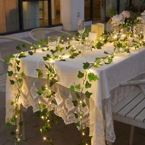 50 LED Flower Fairy Lights String Solar Power Flower Garden Wedding Xmas Party