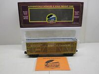 MTH 20-94502 UNION PACIFIC STEEL SIDED STOCK CAR #47456D AND ORIGINAL BOX