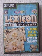 30061 - Lexicon Word Challenge [NEW & SEALED] - PC (2001) Windows XP