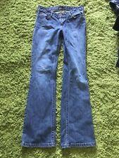SIMPLY VER VERA WANG Cotton Blend Medium Wash Boot Cut Jeans SIZE 2